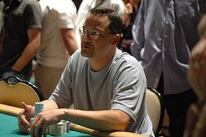 Chris Bell (poker player) - Bell playing in the WPT 2005 Mirage Poker Showdown.