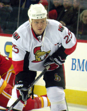 Chris Neil - Neil with the Senators in 2010.