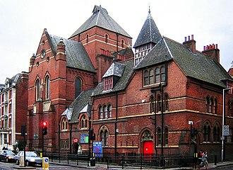 1869 in architecture - Image: Christ Apostolic Church, Hackney