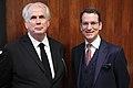 Christie's Deputy Chairman Americas Jonathan Rendell, Christie's President EMERI Dirk Boll (39126569540).jpg