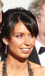 Christine Bleakley and Matthew Cutler at the BAFTA's (3478834688) (2) (cropped).jpg