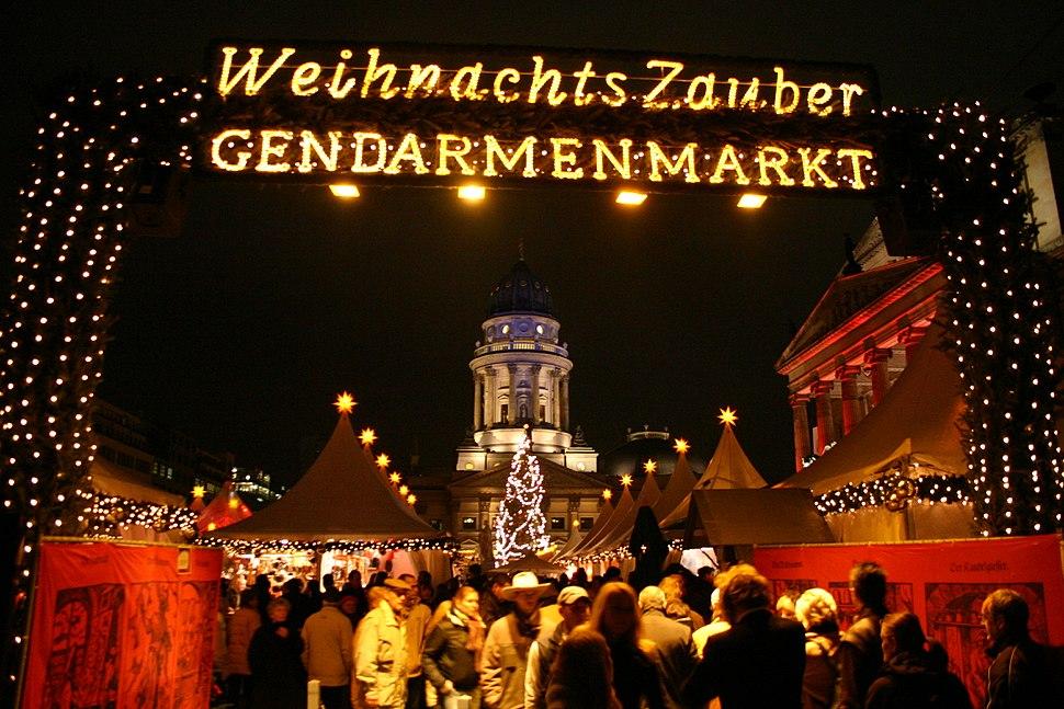 Christmas Gendarmenmarkt, Berlin 2006