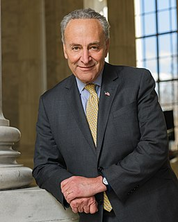 Chuck Schumer U.S. Democratic Senator from the State of New York, Senate Minority Leader (born 1950)