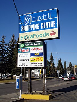 Churchill Shopping Centre