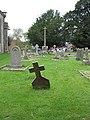 Churchyard and Cross, Much Birch - geograph.org.uk - 578862.jpg