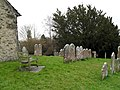 Churchyard at St Mary's, West Chiltington (3) - geograph.org.uk - 1773675.jpg