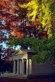 """Cincinnati - Spring Grove Cemetery & Arboretum """"Mausoleum in Autumn"""" (5141890574).jpg"""