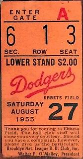 1955 Major League Baseball season sports season