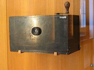 Léon Bouly - Bouly device at CNAM