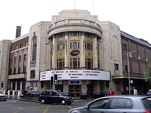 Cineworld - Cineworld on Fulham Road in the Royal Borough of Kensington and Chelsea