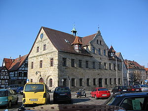 Altdorf bei Nürnberg - The former city hall in 2005
