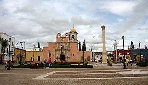 Manuel Doblado, Guanajuato - Image: Ciudad Manuel Doblado Centro