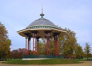 Clapham Common - Clapham Common bandstand after renovation in 2006