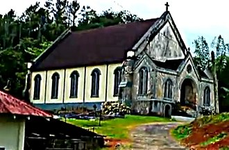 Claremont, Jamaica - The Anglican church
