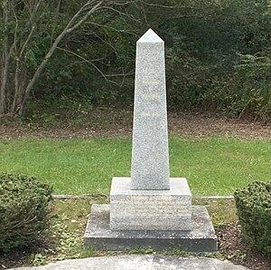 Tom Clarke (Irish republican) - Wicklow granite memorial dedicated in 1987 in Manorville, New York at the site of his 60-acre farm.