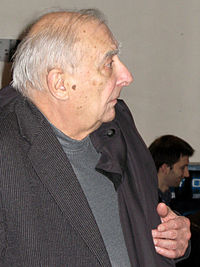 Claude Chabrol, 2008.