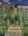 Claude Monet - Monet's garden at Vétheuil (1880).jpg