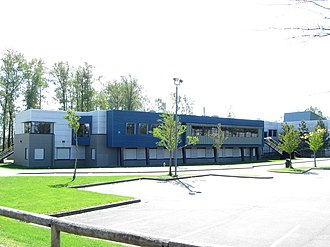 Clayton Heights Secondary School - Image: Clayton Heights Secondary (188 Street)
