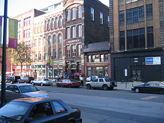 Warehouse District, Cleveland - Historic Warehouse District - West Ninth Street