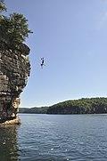 Cliff jumping at Summersville Lake - 01.jpg