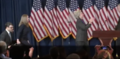 Clinton walking on stage to deliver her concession speech 04.png