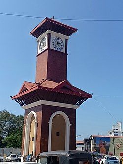 Clock Tower Circle, Hampankatta, Mangalore