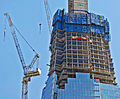 Close-up of work on the Shard London Bridge - April 2011.jpg
