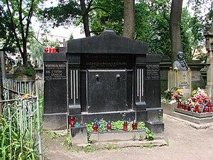 Stefan Banach - Banach's grave, Lychakiv Cemetery, Lviv (Lwów, in Polish)