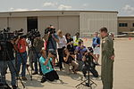 Coast Guard Air Station Traverse City crew reunites with rescued boy from Illinois 140729-G-PL299-085.jpg