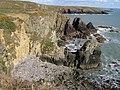 Coastal erosion - geograph.org.uk - 780721.jpg