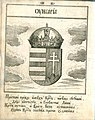 Coat of Arms of Hungary from Stemmatographia by Hristofor Zhefarovich (1741).jpg