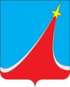 Coat of Arms of Lyubertsy (Moscow oblast) (2007).png