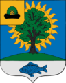 Coat of arms of Novomichurinsk (Ryazan oblast).png