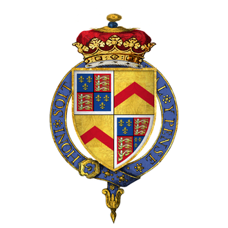 Edward Stafford, 3rd Duke of Buckingham - Arms of Edward Stafford, 3rd Duke of Buckingham, KG