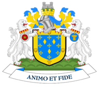 Coat of arms of Stockport County Borough Council