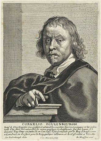 Cornelis van Poelenburgh - Portrait of Cornelis van Poelenburgh