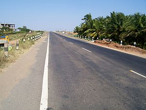 Coimbatore district - The National Highway bye-pass of Salem - Kochi highway