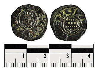 Guy of Lusignan - The coin reads REX GVIDO D on the inverse. On the reverse EIERVSALEM is inscribed around the Holy Sepulchre, showing Guy's reluctance to abandon his claim to Jerusalem.