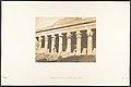 Colonnade latérale de la cour du Temple d'Isis, à Philae MET DP131927.jpg