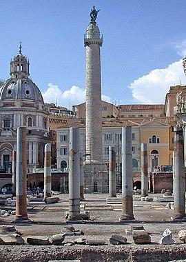 La colonne Trajane.