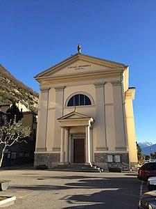 Chiesa di San Michele Arcangelo (Colonno) - Wikipedia