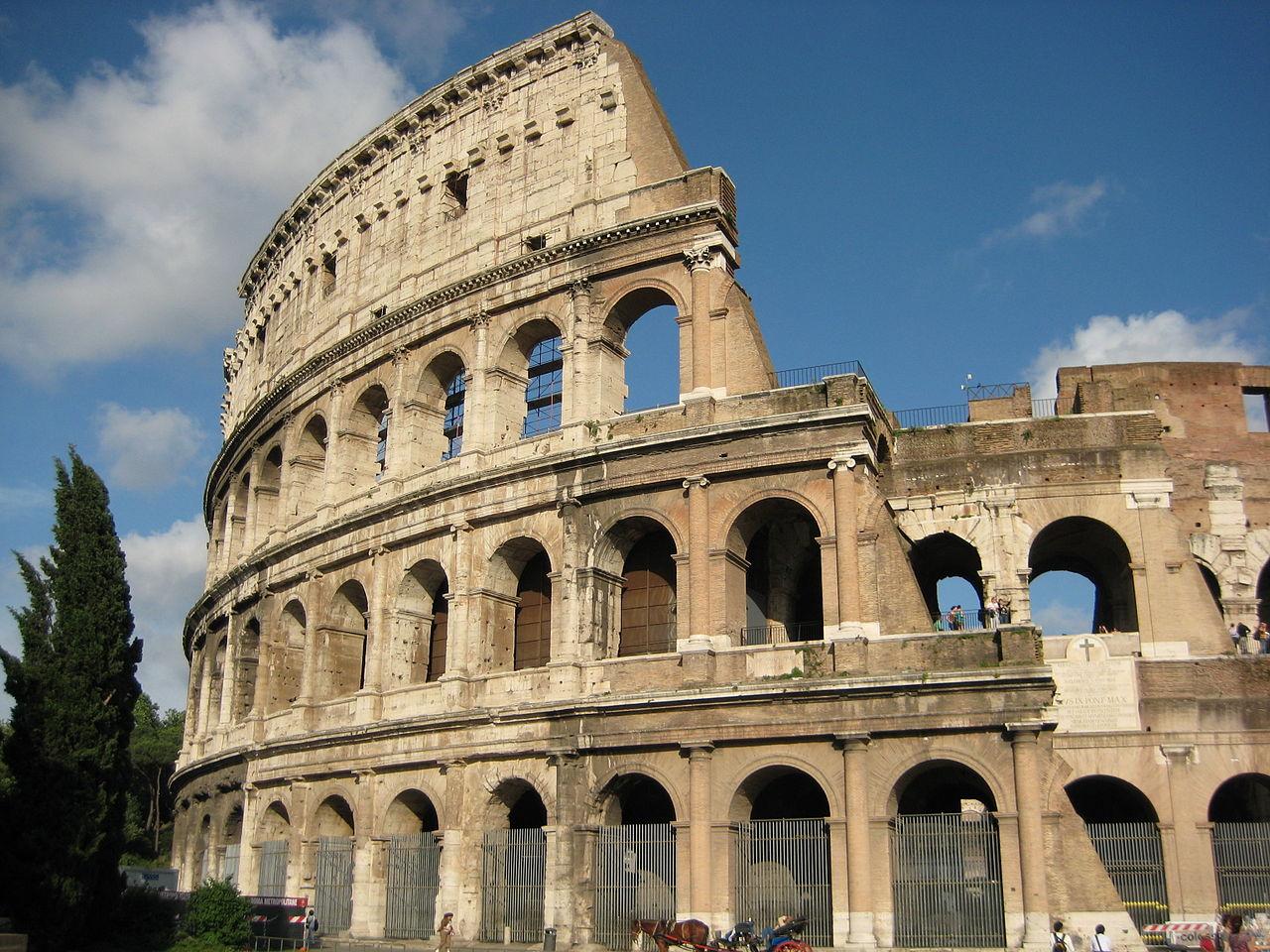 File:Colosseum, Rome, Wts.jpg