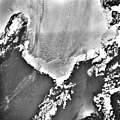 Columbia Glacier, Calving Terminus, Heather Island, April 24, 1984 (GLACIERS 1357).jpg
