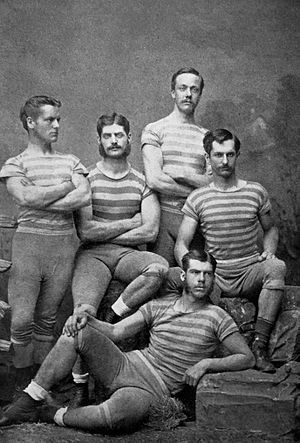 Columbia Lions - Columbia College, winners of the Visitors' Challenge Cup in 1878