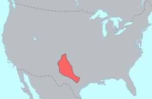 Comanche history - Comanche territory c.1850