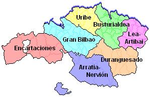 Comarcas de Bizkaia