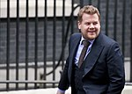Comedian James Corden arrives at Number 10 Downing Street to interview Prime Minister David Cameron (15601005146).jpg