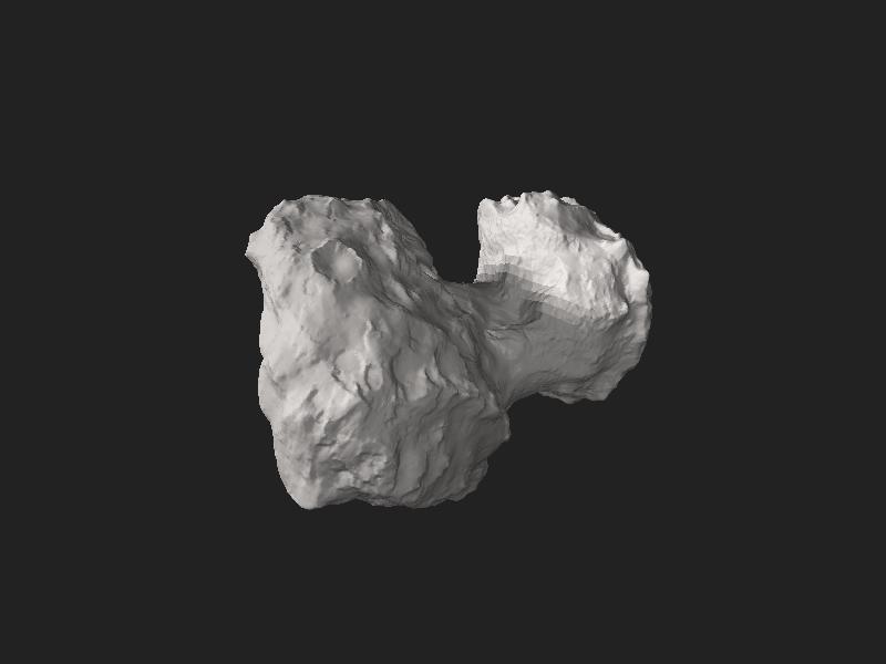 File:Comet 67P-Churyumov-Gerasimenko.stl