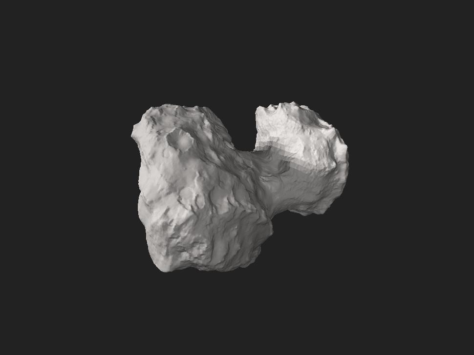 Comet 67P-Churyumov-Gerasimenko.stl