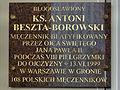 Commemorative plaque in Basilica of the Nativity of St Mary and St Nicholas in Bielsk Podlaski - 10.jpg